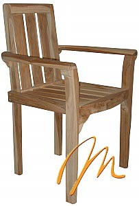CHERIA STACKING CHAIR