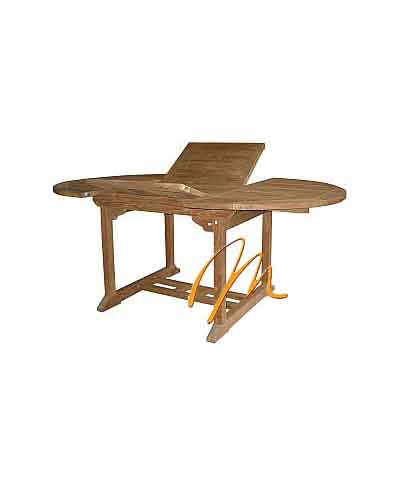 OVAL EXT TABLE