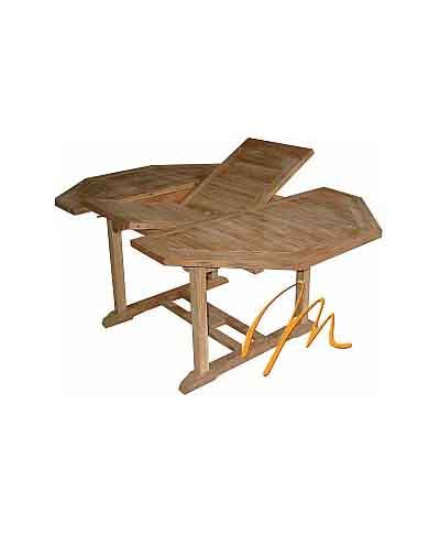OCTAGONAL EXT TABLE 90×120-180