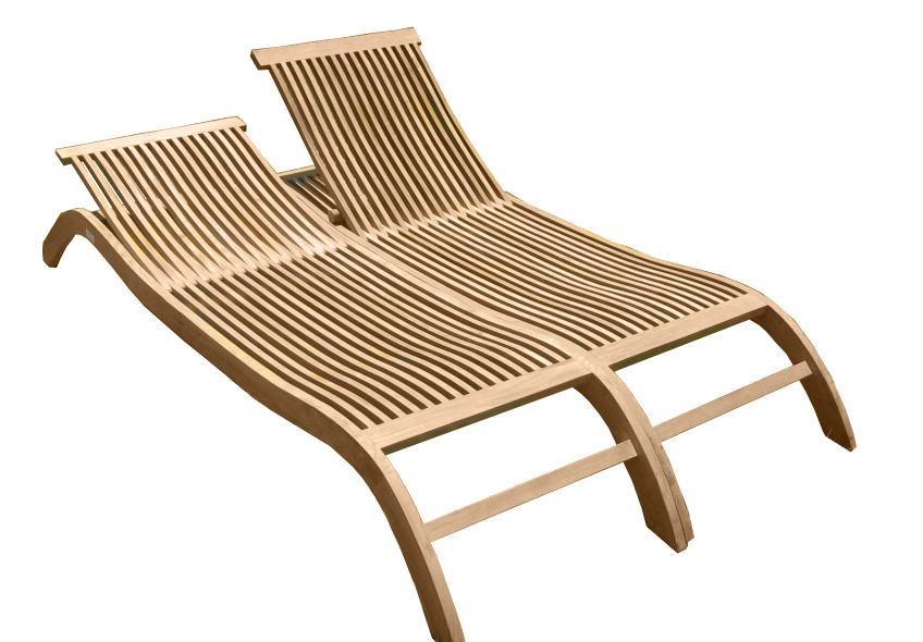 BEACH BENCH BELLO DOUBLE LG-009