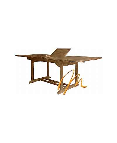 RECTANGULAR EXT TABLE 100×180-240