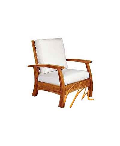 AC IVORY ARM CHAIR